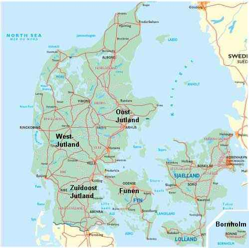 Vliegvissen In Denemarken Vind De Beste Stekken In Heel Denemarken